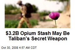 $3.2B Opium Stash May Be Taliban's Secret Weapon