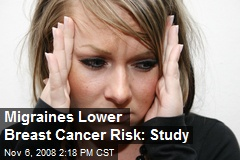 Migraines Lower Breast Cancer Risk: Study