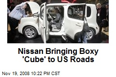 Nissan Bringing Boxy 'Cube' to US Roads