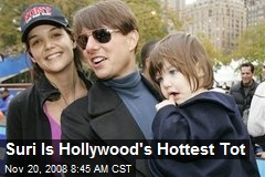 Suri Is Hollywood's Hottest Tot