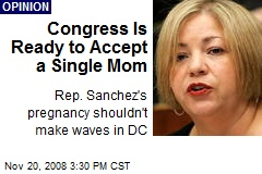 Congress Is Ready to Accept a Single Mom