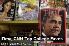 Time, CNN Top College Faves