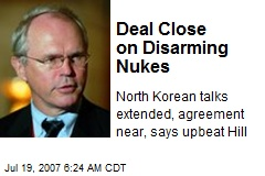 Deal Close on Disarming Nukes