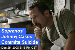 Sopranos ' Johnny Cakes Commits Suicide