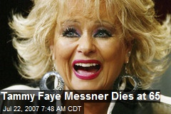 Tammy Faye Messner Dies at 65