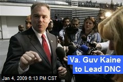 Va. Guv Kaine to Lead DNC