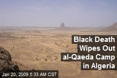 Black Death Wipes Out al-Qaeda Camp in Algeria