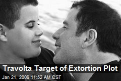Travolta Target of Extortion Plot