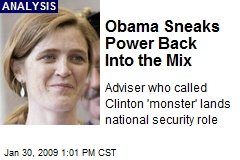 Obama Sneaks Power Back Into the Mix
