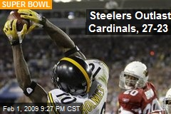 Steelers Outlast Cardinals, 27-23