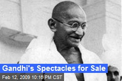 Gandhi's Spectacles for Sale