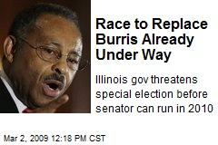 Race to Replace Burris Already Under Way