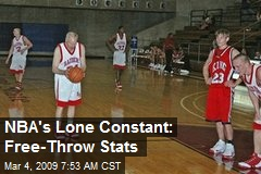 NBA's Lone Constant: Free-Throw Stats