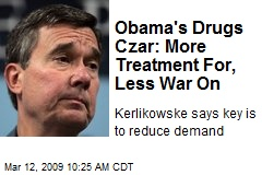 Obama's Drugs Czar: More Treatment For, Less War On