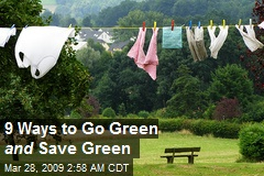 9 Ways to Go Green and Save Green