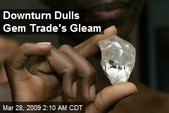 Downturn Dulls Gem Trade's Gleam