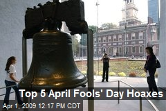 Top 5 April Fools' Day Hoaxes