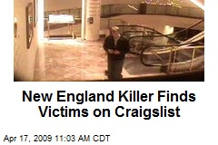 New England Killer Finds Victims on Craigslist
