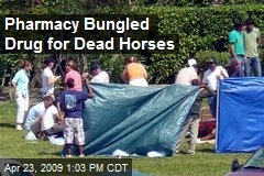 Pharmacy Bungled Drug for Dead Horses