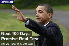 Next 100 Days Promise Real Test