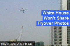 White House Won't Share Flyover Photos