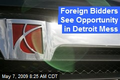 Foreign Bidders See Opportunity in Detroit Mess