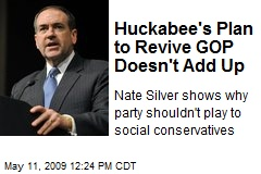 Huckabee's Plan to Revive GOP Doesn't Add Up