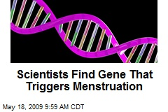 Scientists Find Gene That Triggers Menstruation