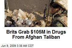 Brits Grab $105M in Drugs From Afghan Taliban