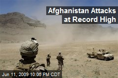 Afghanistan Attacks at Record High