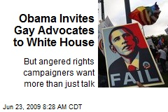 Obama Invites Gay Advocates to White House