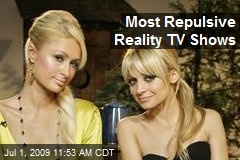 Most Repulsive Reality TV Shows
