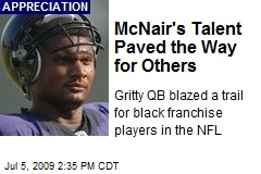 McNair's Talent Paved the Way for Others