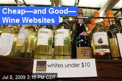 Cheap—and Good— Wine Websites