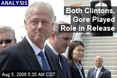 Both Clintons, Gore Played Role in Release