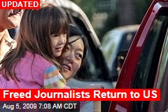 Freed Journalists Return to US