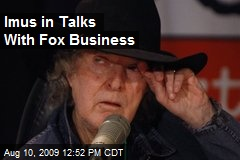 Imus in Talks With Fox Business