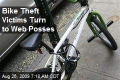 Bike Theft Victims Turn to Web Posses