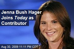 Jenna Bush Hager Joins Today as Contributor