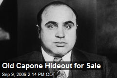 Old Capone Hideout for Sale