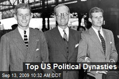 Top US Political Dynasties