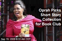 Oprah Picks Short Story Collection for Book Club