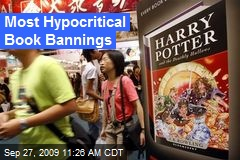 Most Hypocritical Book Bannings