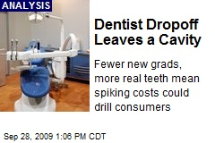 Dentist Dropoff Leaves a Cavity