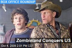 Zombieland Conquers US