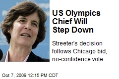 US Olympics Chief Will Step Down