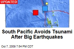 South Pacific Avoids Tsunami After Big Earthquakes