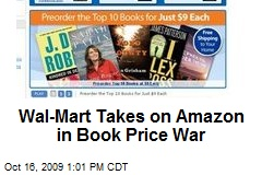 Wal-Mart Takes on Amazon in Book Price War
