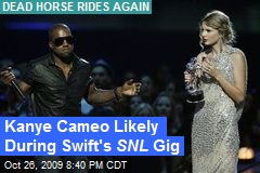 Kanye Cameo Likely During Swift's SNL Gig