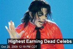 Highest Earning Dead Celebs